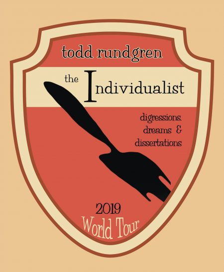 Todd Rundgren's 'The Individualist' Tour dates