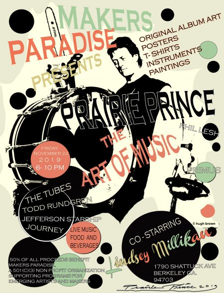 Makers Paradise Presents Prairie Prince: Art of Rock